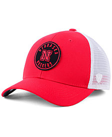 Top of the World Nebraska Cornhuskers Coin Trucker Cap