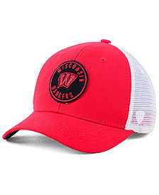 Top of the World Wisconsin Badgers Coin Trucker Cap