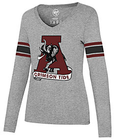 '47 Brand Women's Alabama Crimson Tide Knockaround Club Long Sleeve T-Shirt