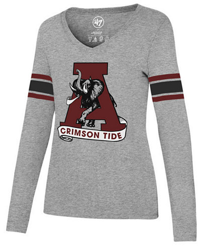 '47 Brand Women's Alabama Crimson Tide Knockaround Club Long Sleeve T-Shirt