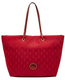 Dooney & Bourke Boston Red Sox Embossed Nylon Addison Tote