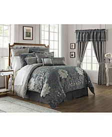 Waterford Reversible Ansonia 4-Pc. King Comforter Set
