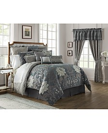 Waterford Reversible Ansonia 4-Pc. California King Comforter Set