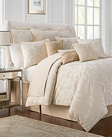 Waterford Reversible Britt Reversible 4-Pc. Queen Comforter Set