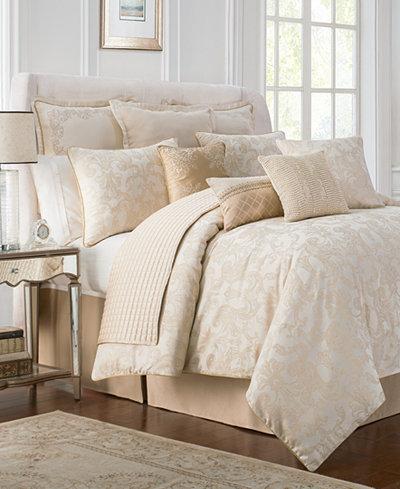 Waterford Reversible Britt Reversible 4-Pc. California King Comforter Set