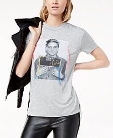 True Vintage Elvis Graphic Tassel-Detail T-Shirt