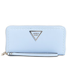 GUESS Sawyer Large Zip Around Wallet