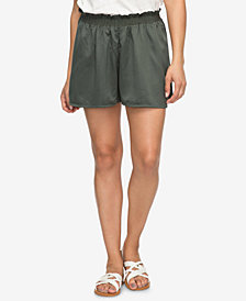 Roxy Juniors' Soft Ruffled Shorts