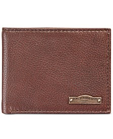 Levi's® Men's RFID Leather Bifold Wallet