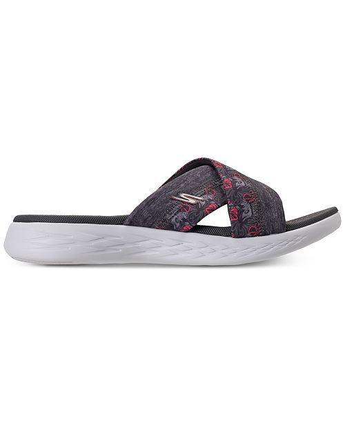 Skechers Women's On The Go 600 - Monarch Athletic Sandals from Finish Line 6TJLS