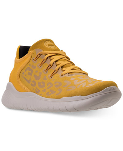WMNS NIKE FREE RN 2018 YELLOW OCKRE  RUNNING WOMEN'S SELECT YOUR SIZE