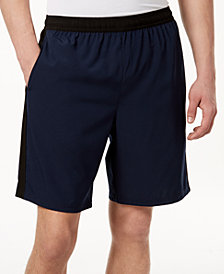 "ID Ideology Men's Contrast Woven 9"" Shorts, Created for Macy's"