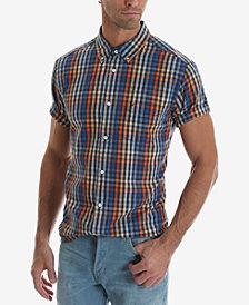 Wrangler Short Sleeve Multicolor Check Shirt