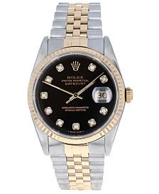 Pre Owned Rolex Men S