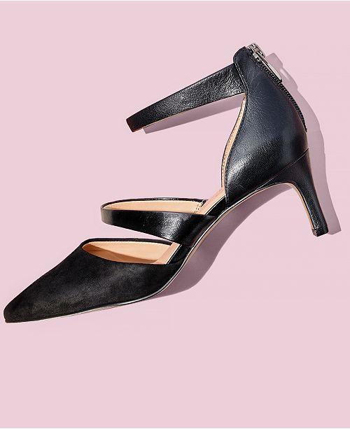 9b3507a66c69f Franco Sarto Davey Pointed-Toe Pumps & Reviews - Pumps - Shoes - Macy's