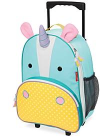 Little Girls Unicorn Rolling Luggage