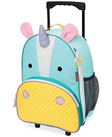 Skip Hop Little Boys & Girls Unicorn Rolling Luggage