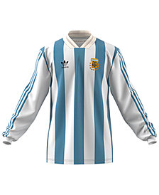 adidas Men's Originals Argentina Long-Sleeve Replica Soccer T-Shirt