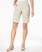 cfba98049787f Style   Co Comfort-Waist Bermuda Shorts, Created for Macy s. Quickview. 3  colors