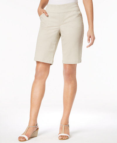Style & Co Comfort-Waist Bermuda Shorts, Created for Macy's