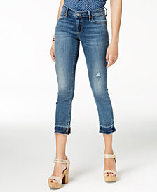 Lucky Brand Cropped Release-Hem Skinny Jeans