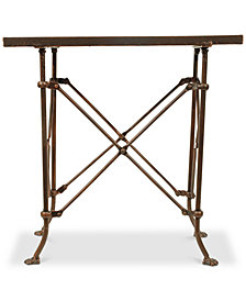 20''H Bronze Metal Table