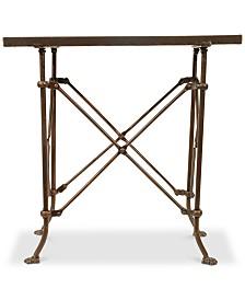 20''H Bronze Metal Table