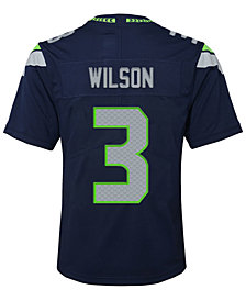 Nike Russell Wilson Seattle Seahawks Limited Team Jersey, Big Boys (8-20)