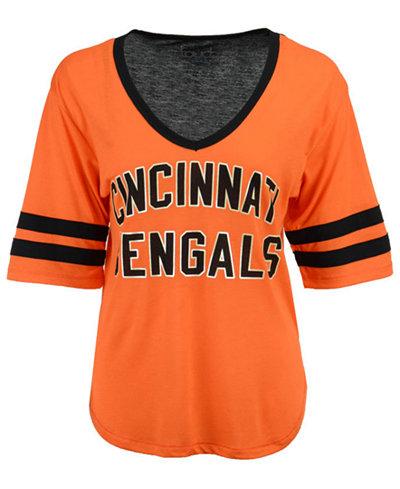 Touch by Alyssa Milano Women's Cincinnati Bengals Quarterback T-Shirt