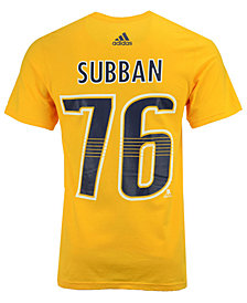 adidas Men's PK Subban Nashville Predators Silver Player T-Shirt