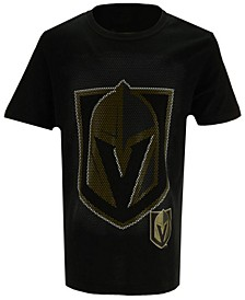 Vegas Golden Knights Logo Matrix T-Shirt, Big Boys (8-20)