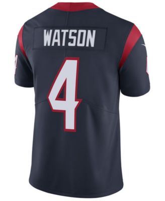 cdcaac1923d Nike Men's DeShaun Watson Houston Texans Vapor Untouchable Limited Jersey &  Reviews - Sports Fan Shop By Lids - Men - Macy's