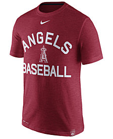 Nike Men's Los Angeles Angels Dri-Fit Slub Arch T-Shirt