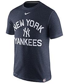 Nike Men's New York Yankees Dri-Fit Slub Arch T-Shirt
