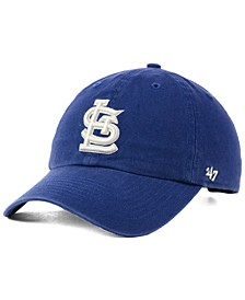 St. Louis Cardinals Timber Blue CLEAN UP Cap