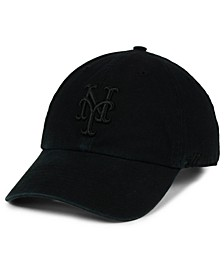 New York Mets Black on Black CLEAN UP Cap