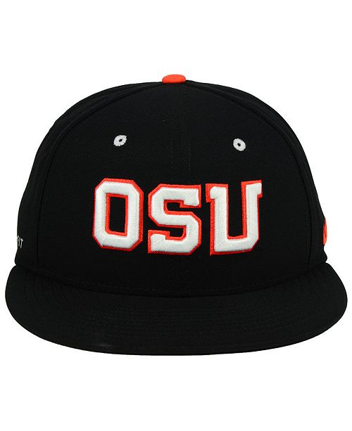 the best attitude 3424c 75a8b ... Nike Oregon State Beavers Aerobill True Fitted Baseball Cap ...
