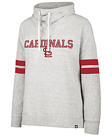 '47 Brand Women's St. Louis Cardinals French Terry Funnel Hoodie