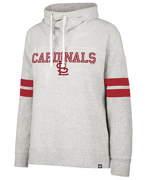 online store 8d681 4db2b Women's St. Louis Cardinals French Terry Funnel Hoodie