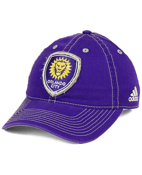 Orlando City SC Sand Blast Adjustable Cap