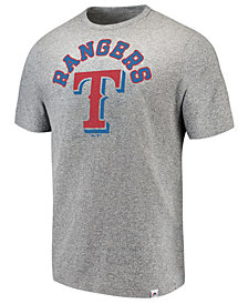 Majestic Men's Texas Rangers Twisted Stripe T-Shirt