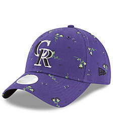 New Era Colorado Rockies Blossom 9TWENTY Strapback Cap