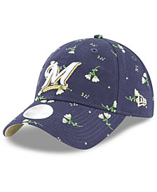 New Era Milwaukee Brewers Blossom 9TWENTY Strapback Cap