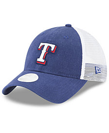 New Era Texas Rangers Trucker Shine 9TWENTY Cap