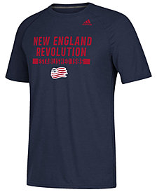 adidas Men's New England Revolution Utility Work T-Shirt