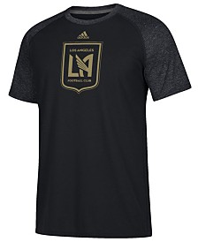 adidas Men's Los Angeles Football Club Redirection Logo T-Shirt