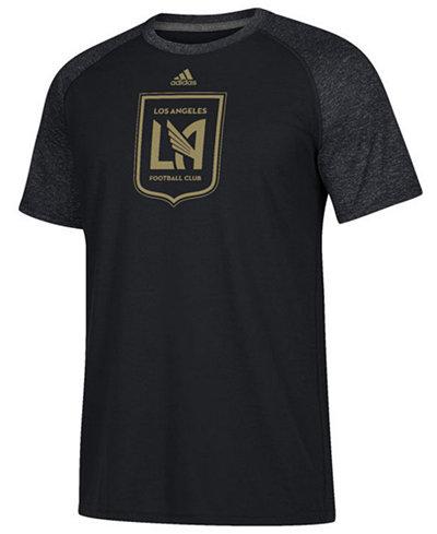 adidas Men's Los Angeles Football Club Redirection Logo T-Shirt
