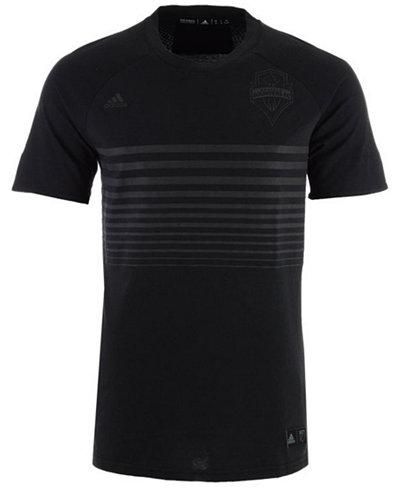 adidas Men's Seattle Sounders FC Black Out T-Shirt