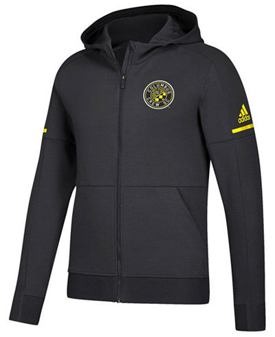 adidas Men's Columbus Crew SC Travel Jacket