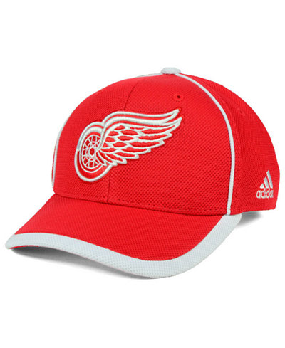adidas Detroit Red Wings Clipper Adjustable Cap